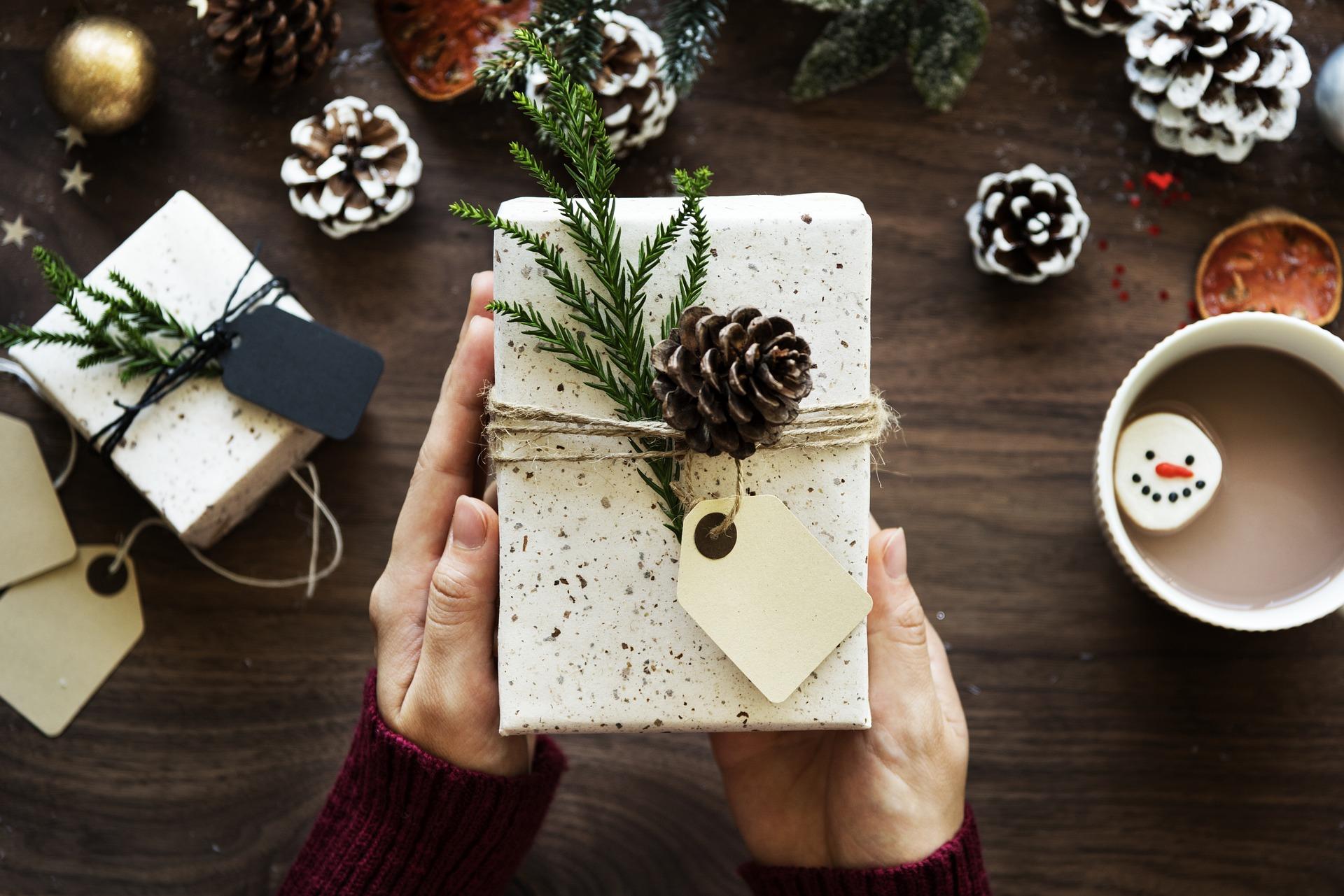 クリスマスプレゼントにファーバッグを