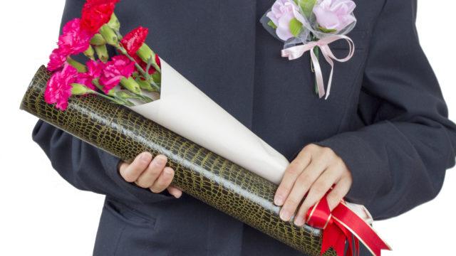 卒業式や入学式のスーツ